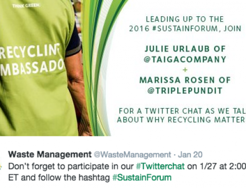 Join Waste Management's Twitter Chat – How to Make the Circular Economy Work
